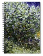 Van Gogh: Lilacs, 19th C Spiral Notebook