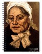 Van Gogh: Midwife, 1885 Spiral Notebook