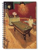 Van Gogh Night Cafe 1888 Spiral Notebook