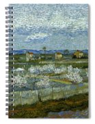 Van Gogh: Peach Tree, 1889 Spiral Notebook