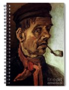 Van Gogh: Peasant, 1884 Spiral Notebook