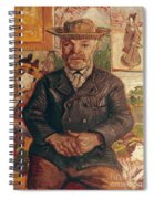 Van Gogh: Pere Tanguy, 1887 Spiral Notebook