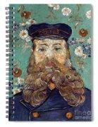 Van Gogh: Postman, 1889 Spiral Notebook