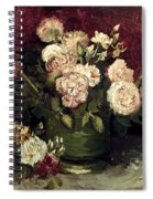 Van Gogh: Roses, 1886 Spiral Notebook