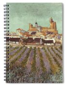 Van Gogh: Saintes-maries Spiral Notebook