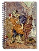 Van Gogh: Samaritan, 1890 Spiral Notebook