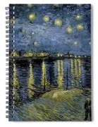 Van Gogh, Starry Night Spiral Notebook
