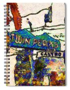 Van Gogh Takes A Wrong Turn And Discovers The Castro In San Francisco . 7d7547 Spiral Notebook