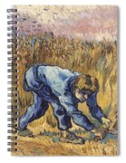 Van Gogh: The Reaper, 1889 Spiral Notebook