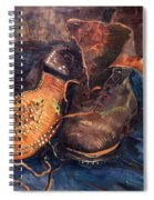 Van Gogh: The Shoes, 1887 Spiral Notebook