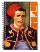 Van Gogh: The Zouave, 1888 Spiral Notebook