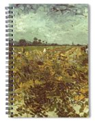Van Gogh: Vineyard, 1888 Spiral Notebook