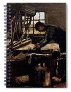 Van Gogh: Weaver, 1884 Spiral Notebook