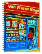 Van Horne Bagel Spiral Notebook