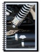 Vance And Hines Spiral Notebook