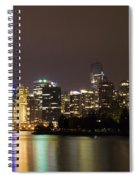 Vancouver By Night Spiral Notebook