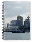 Vancouver Harbour Spiral Notebook