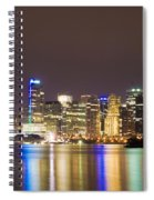 Vancouver Lights Spiral Notebook