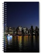 Vancouver Night Lights Spiral Notebook
