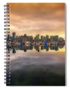 Vancouver Reflections Spiral Notebook