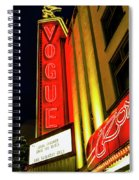 Vancouver Vogue Spiral Notebook
