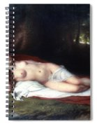Vanderlyn: Ariadne Asleep Spiral Notebook
