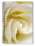 Vanilla Swirl Spiral Notebook