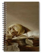 Vanitas Spiral Notebook