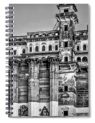 Varanasi Bw Spiral Notebook