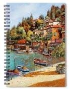Varenna On Lake Como Spiral Notebook