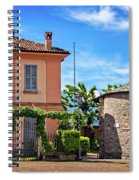 Varenna Town Square Buildings Spiral Notebook