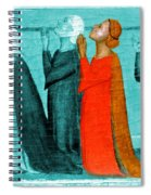 Variation On An Alterpiece Spiral Notebook