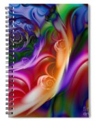 Varicolored Spiral Notebook