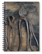 Various Forceps Spiral Notebook