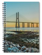 Vasco Da Gama Bridge Spiral Notebook