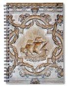 Vasco Da Gama Sarcophagus Lisbon Spiral Notebook