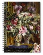Vase Of Flowers, 1871  Spiral Notebook