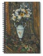 Vase Of Flowers Spiral Notebook