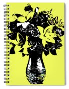 Vase Of Flowers Spiral Notebook