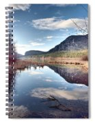 Vaseux Reflections Spiral Notebook