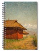 Vasily Vasilievich Vereshchagin  Russian 1842  1904 Nepalese Village Spiral Notebook