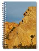 Vasquez Rocks State Park, Sunset Spiral Notebook