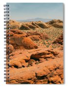 Vast Desert Valley Of Fire Spiral Notebook
