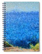 Vast Expanse Of The Ocean Spiral Notebook