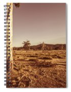 Vast Pastoral Australian Countryside  Spiral Notebook