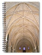 Vaulted Ceiling And Arches Spiral Notebook