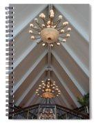 Vaulted Lights Spiral Notebook