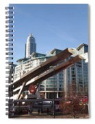 Vauxhall Station Spiral Notebook