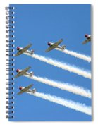 Vee Formation Spiral Notebook