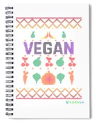 Vegan Traditional Spiral Notebook